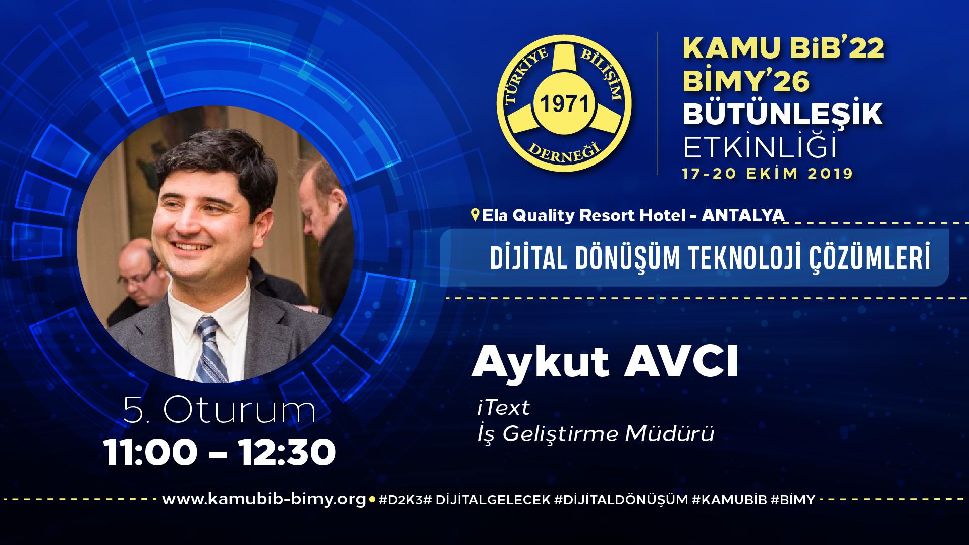 Aykut AVCI - KamuBİB'22 BİMY'26