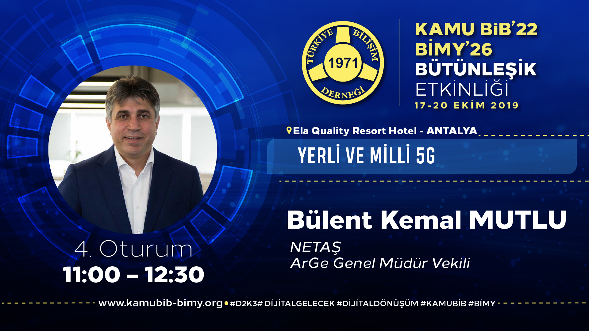 Bülent Kemal MUTLU - KamuBİB'22 BİMY'26