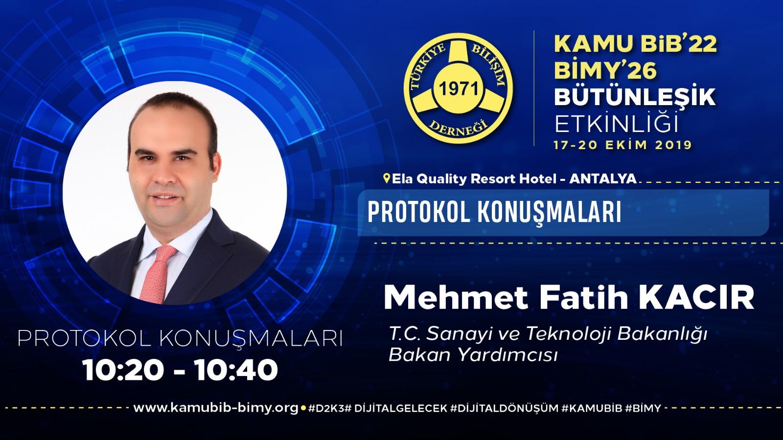 Mehmet Fatih KACIR - KamuBİB'22 BİMY'26