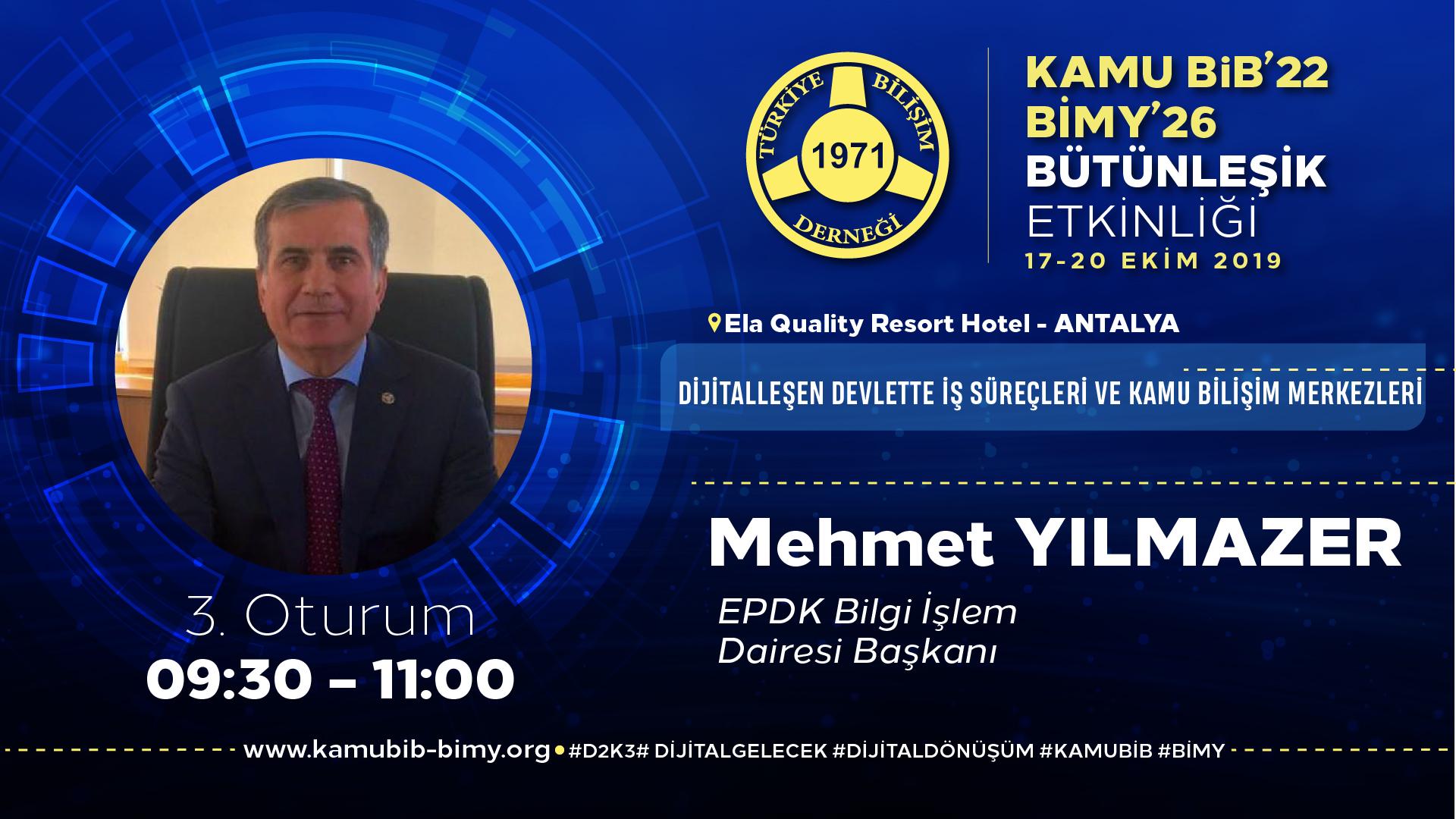 Mehmet YILMAZER - KamuBİB'22 BİMY'26