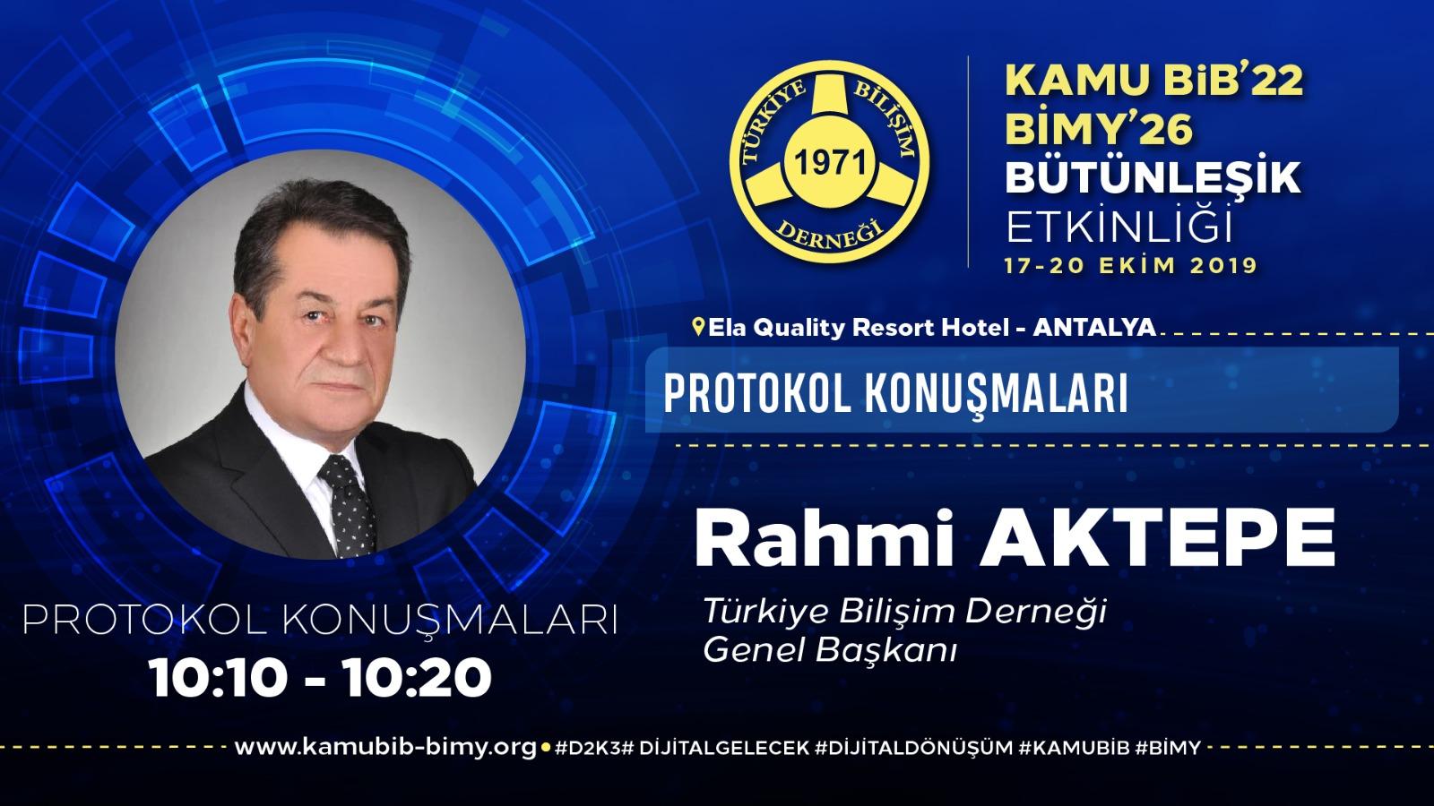 Rahmi AKTEPE - KamuBİB'22 BİMY'26