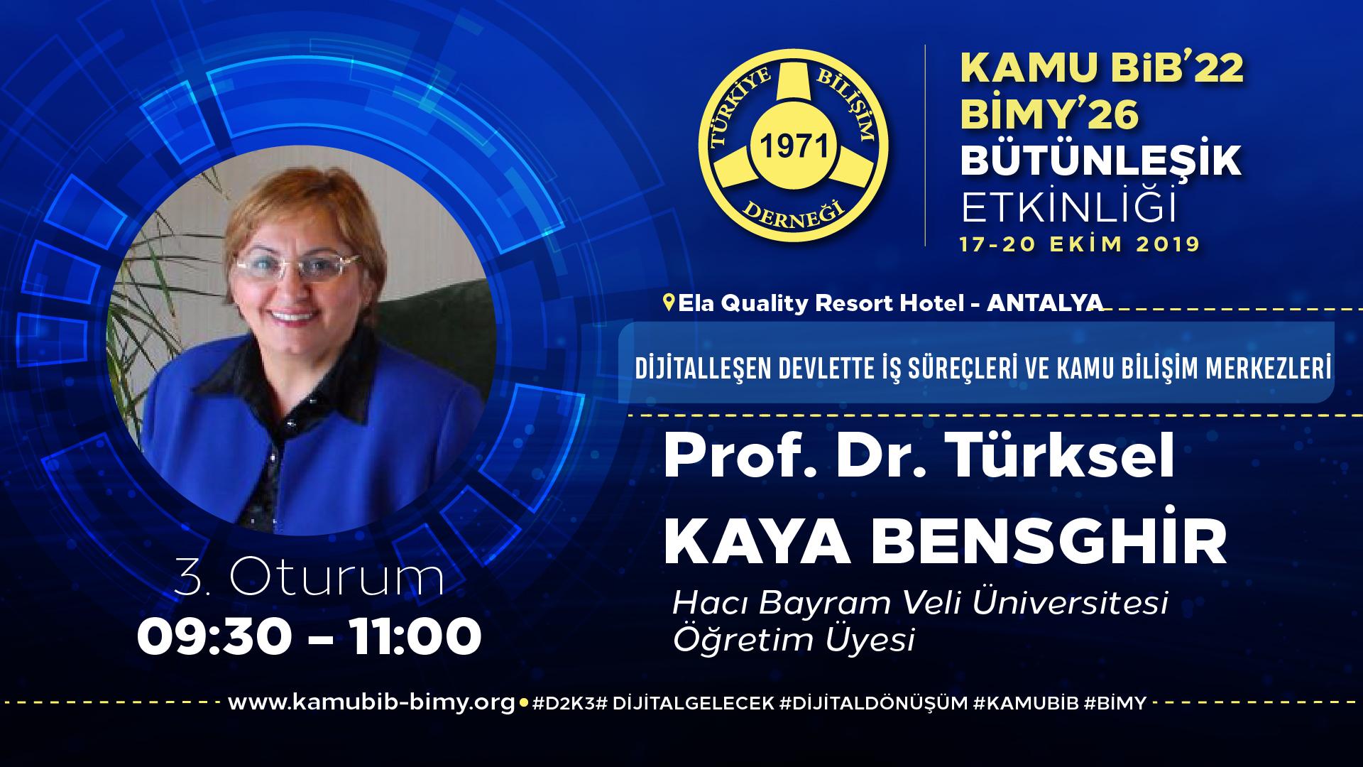 Türksel KAYA BENSGHİR - KamuBİB'22 BİMY'26